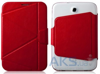 Чехол для планшета Momax Smart case for Samsung Galaxy Note 8.0 Red (GCSANOTE8R)