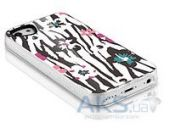 Вид 4 - Чехол ITSkins Phantom for iPhone 5C Zebra Flower (APNP-PHANT-ZBFL)