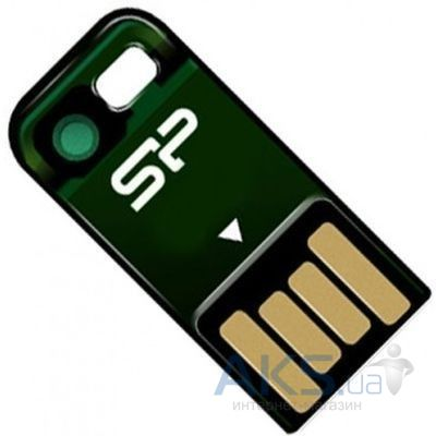 Флешка Silicon Power Touch T02 32GB (SP032GBUF2T02V1N) Green