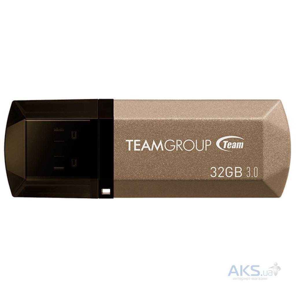 Флешка Team 32GB C155 GOLDEN USB 3.0 (TC155332GD01)