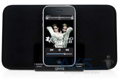 Колонки акустические Gear4 Portable Speaker Dock Street Party Size 0 V2 for iPhone/iPod (PG492)