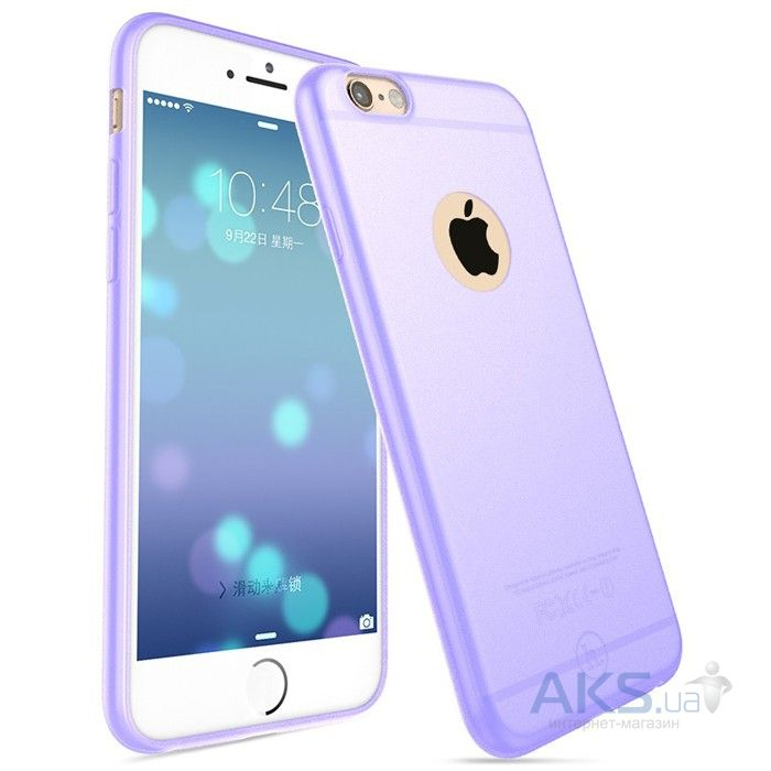 Чехол Hoco Light Series Frosted Apple iPhone 6, iPhone 6S Purple
