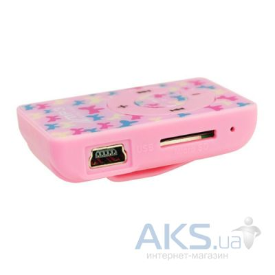 Mp3-плеер Slim Flash Drive New Pink