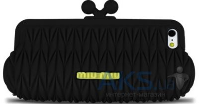 Чехол MIUMIU Clutch Case for iPhone 5/5S Black (MIU-CLTCH-BLCK)