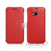 Чехол iCarer Litchi Pattern HTC One M8 Red