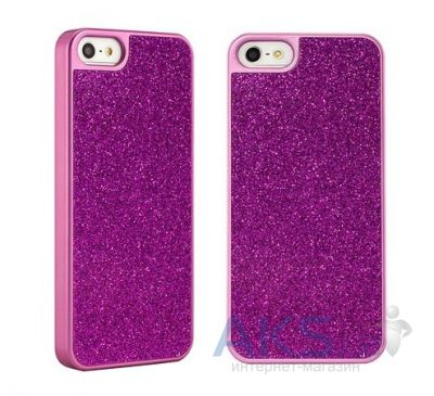 Чехол Star5 Bright Color Series Apple iPhone 5, iPhone 5S, iPhone 5SE Rose