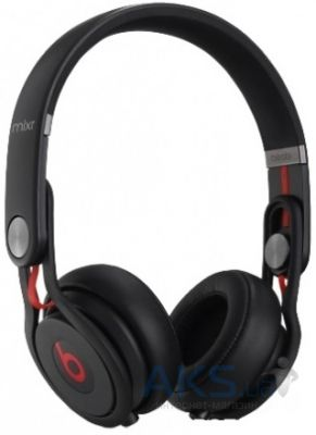 Наушники (гарнитура) Beats Mixr High-Performance Professional Black (MH6M2ZM/A)