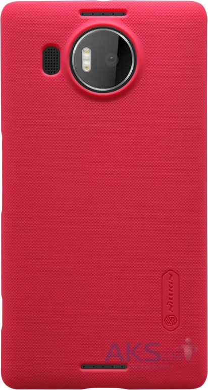 Чехол Nillkin Super Frosted Shield Microsoft Lumia 950 XL Red