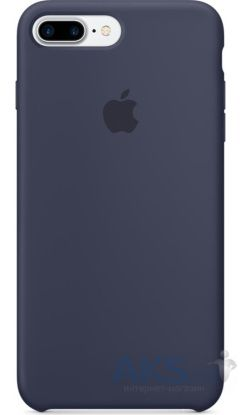Чехол Apple Silicone Case Apple iPhone 7 Plus, iPhone 8 Plus Midnight Blue_HC