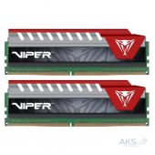 Оперативная память Patriot DDR4 16GB (2x8GB) 2400 MHz Viper Elite Red (PVE416G240C5KRD)