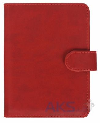 Обложка (чехол) Korka Classical Red (Ak4-Clas-pu-rd) для Amazon Kindle 4/5
