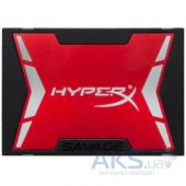 "Накопитель SSD Kingston HyperX® Savage SSD 2.5"" 120GB (SHSS37A/120G)"