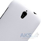 Вид 3 - Чехол Nillkin Super Frosted Shield Huawei Ascend G610 White