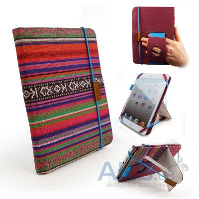 Чехол для планшета Tuff-Luv Embrace Plus Material Case cover (inc Sleep function) for Amazon Kindle Fire HD / Nook 7 HD / iPad Mini - Navajo