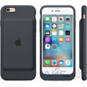 Вид 3 - Внешний аккумулятор Apple Smart Battery Case for iPhone 6s Charcoal Gray (MGQL2)