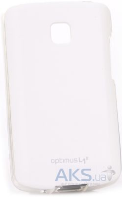 Чехол VOIA Jelly Skin for LG Optimus L1 II E410 White