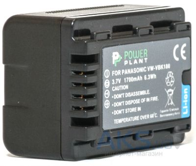 Аккумулятор Panasonic VW-VBK360 3400mAh (DV00DV1293) PowerPlant