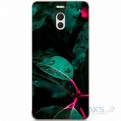 Чохол 1TOUCH Silicone Print Nature Series Meizu M6 Note Green Leaf