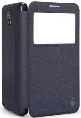 Чехол Nillkin Sparkle Leather Series Samsung N7502 Galaxy Note 3 Neo Duos Black