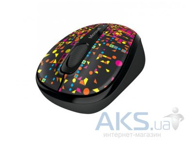 Компьютерная мышка Microsoft Wireless Mobile Mouse 3500 Artist Cheuk
