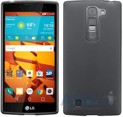 Чехол Original TPU Case LG Optimus Y90 Magna H502 Gray