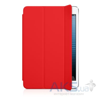 Чехол для планшета Apple iPad mini Smart Cover Red (MD828)