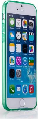 Чехол Momax Clear Twist Apple iPhone 6, iPhone 6S Green (CCAPIP6G)