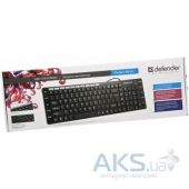 Вид 3 - Клавиатура Defender OfficeMate MM-810 (45810) Black