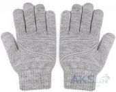 Moshi Digits Touch Screen Gloves Light Gray S/M (99MO065011)