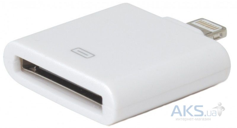 Eco Style Apple Lightning to Apple 30 pin White (ES-AD-ApWH)