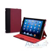 Чехол для планшета Tuff-Luv Protégé Faux Leather Case Cover (with Sleep Function) for the Apple iPad mini Black / Red (I7_20)