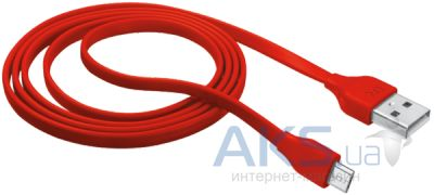 Кабель USB Urban Revolt microUSB Cable 1m Red
