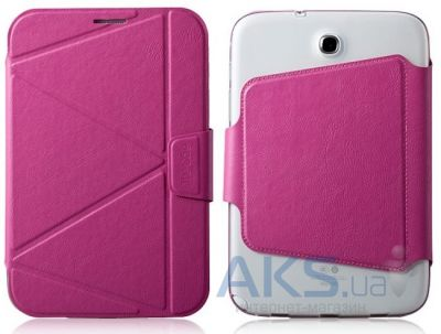 Чехол для планшета Momax Smart case for Samsung Galaxy Note 8.0 Pink (GCSANOTE8P)