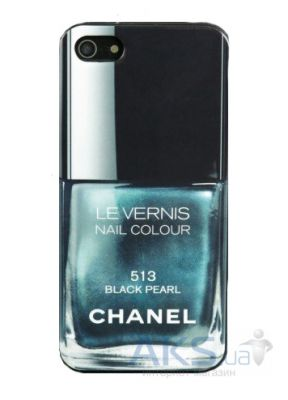 Чехол Chanel Le Vernis Apple iPhone 5, iPhone 5S, iPhone SE Black Perl