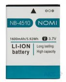 Аккумулятор Nomi I4510 Beat M / NB-4510 (1600 mAh) Original