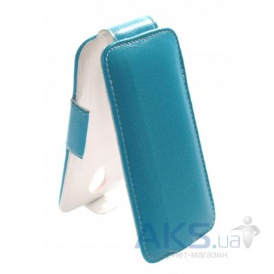 Чехол Sirius flip case for Lenovo A505E Blue