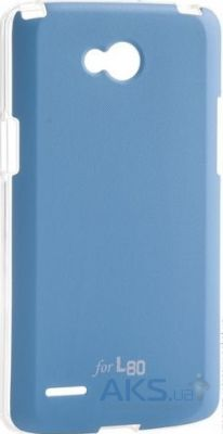 Чехол VOIA Jell Skin for LG Optimus L80 Dual (D380) Blue