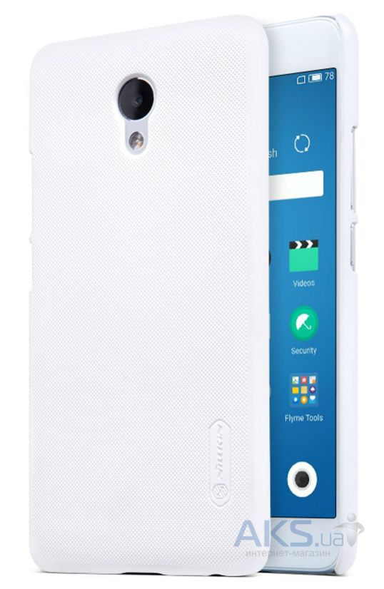 Чехол Nillkin Super Frosted Shield Meizu M5 Note White