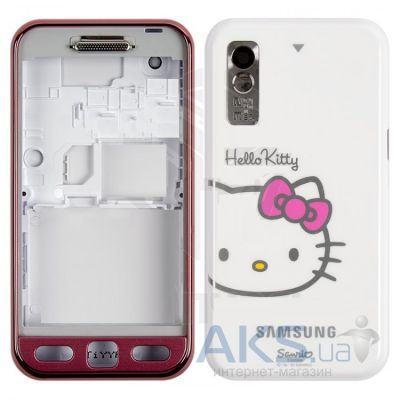 Корпус Samsung S5230 Star WiFi Hello Kitty White/Pink