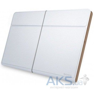 Чехол для планшета Sony Genuine leather cover for Tablet Z White