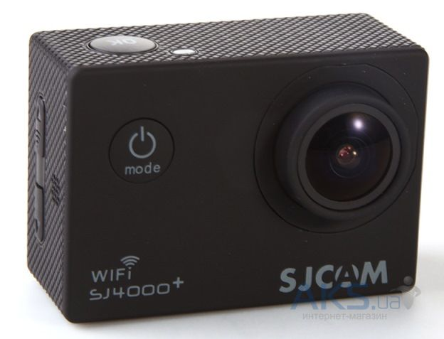 Экшн-камера SJCAM SJ4000+ Plus Wi-Fi Black