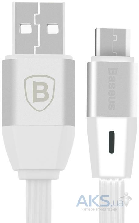 Кабель USB Baseus Si Chi times flash series Type-C cable White