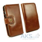Вид 4 - Чехол Alston Craig Vintage Genuine Leather Wallet Case Cover Apple iPhone 6, iPhone 6S Brown (G10_21)