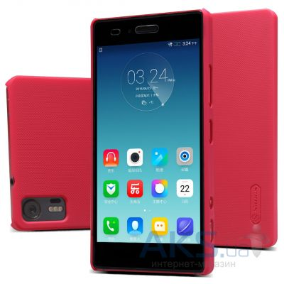 Чехол Nillkin Super Frosted Shield Lenovo Z90 Vibe Shot Red