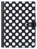 Чехол для планшета Griffin Back Bay Folio Apple iPad Air Polka Black/White/Purple (GB37899)