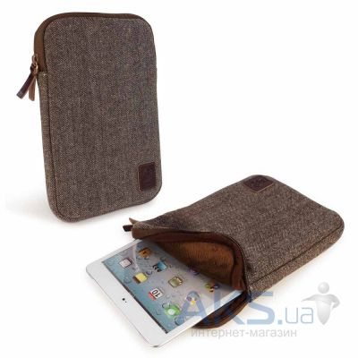 "Чехол для планшета Tuff-Luv Herringbone Tweed Sleeve Case Cover 7"" Devices Including Brown (A3_18)"