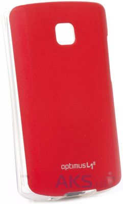 Чехол VOIA Jelly Skin for LG Optimus L1 II E410 Red