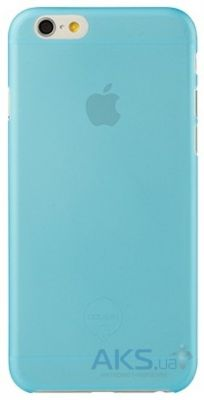 Чехол Ozaki O!coat 0.3 Jelly for iPhone 6/6S Blue (OC555BU)