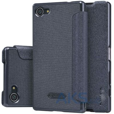 Чехол Nillkin Sparkle Leather Series Sony Xperia Z5 Compact E5823 Black