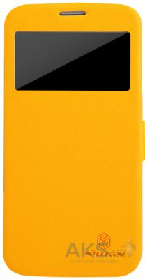 Чехол Nillkin Fresh Series Leather Case For Samsung i9152 Yellow